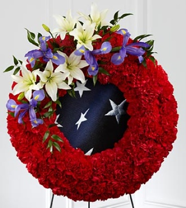To Honor Their Country Wreath