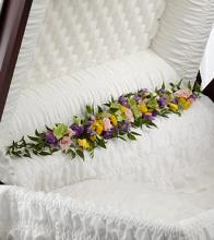 Trail of Flowers Casket Adornment