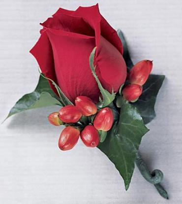 Rose Bloom Boutonniere