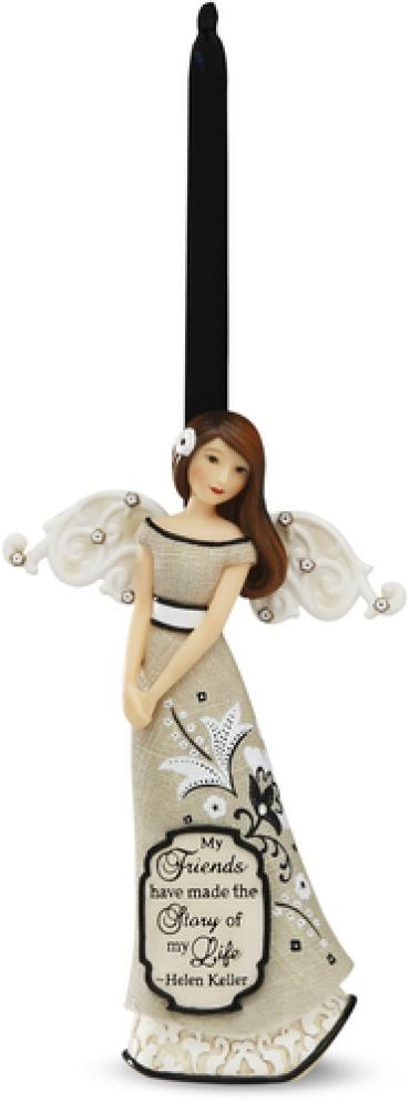 "4.5"" Angel Ornament"