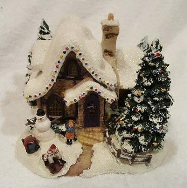 Thomas kinkade Sweet Water Christmas
