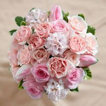 The Dawn Rose Bouquet