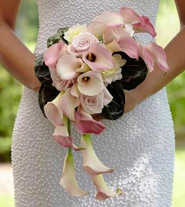 The Pink Cascade Bouquet