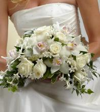 The White on White Bouquet