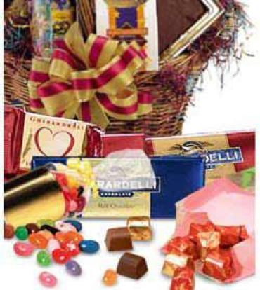 Florist Designed Chocolate & Candy Basket