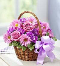 Basket of Blooms™ for Mom