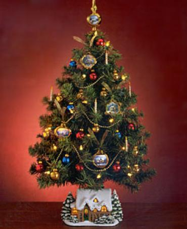 Thomas Kinkade Christmas Tree