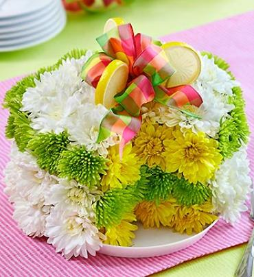 "Fresh Flower Cakeâ""¢ - Lemon"