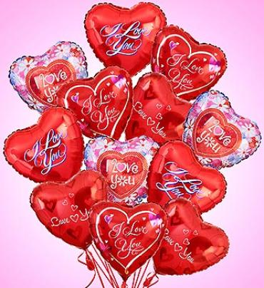 Air-Rangement- Love & Romance Mylar Balloons
