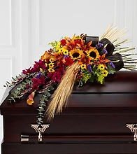 Glorious Garden Casket Spray